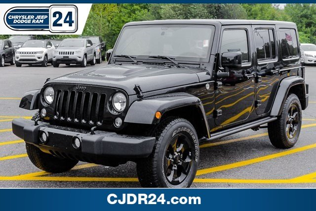 Certified Pre Owned 2015 Jeep Wrangler Unlimited Altitude