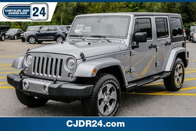 Certified Pre Owned 2017 Jeep Wrangler Unlimited Sahara