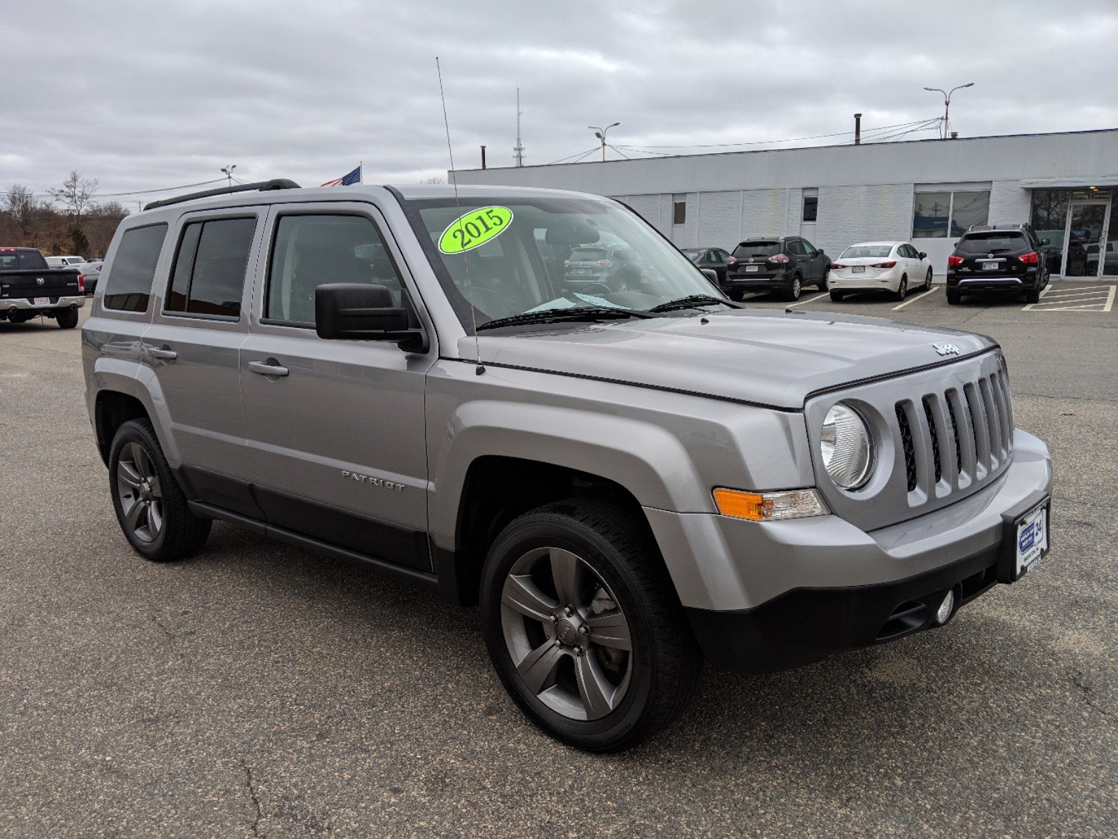 certified pre-owned 2015 jeep patriot high altitude edition sport