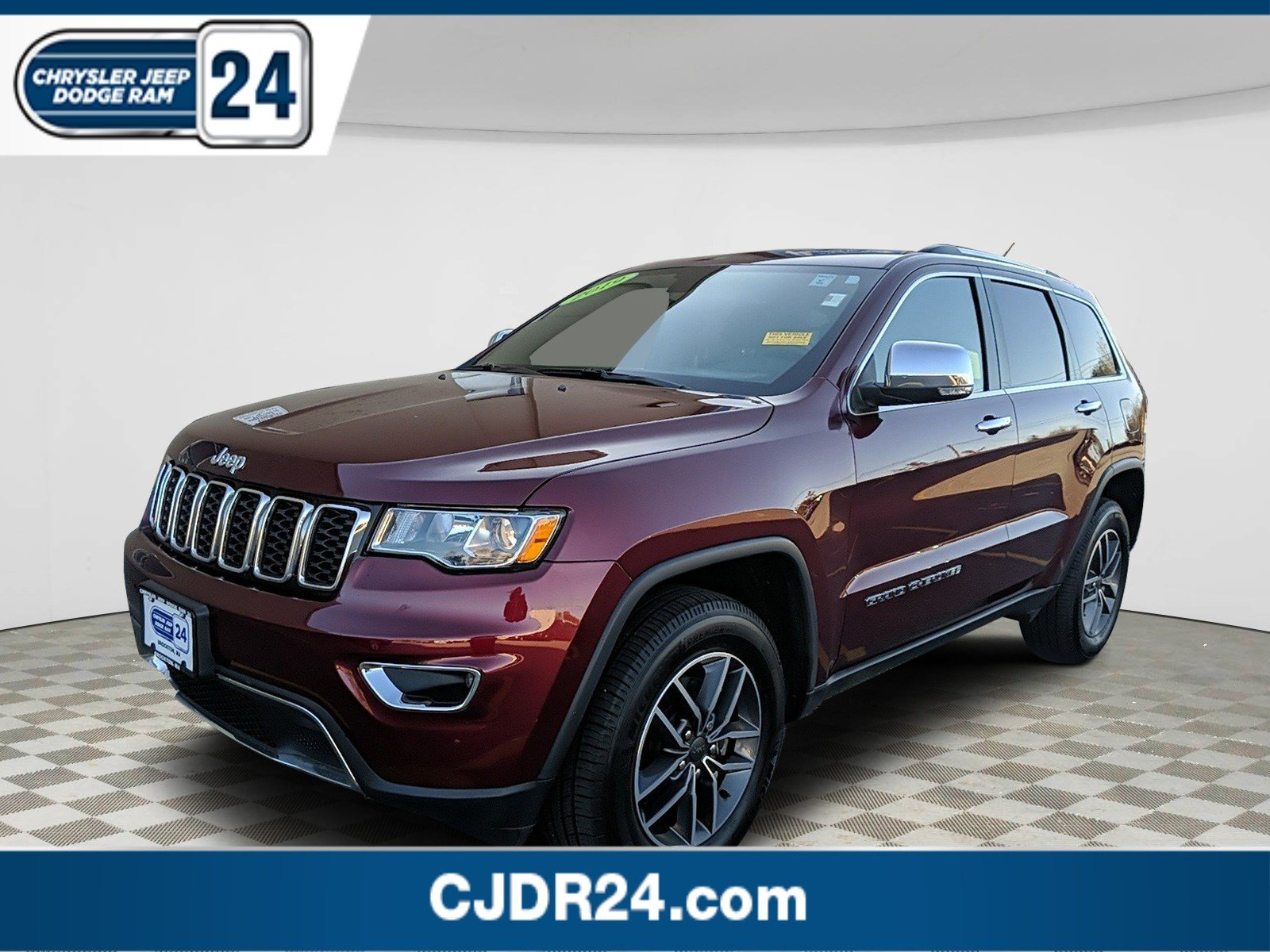 Certified Pre-Owned 2019 Jeep Grand Cherokee Limited