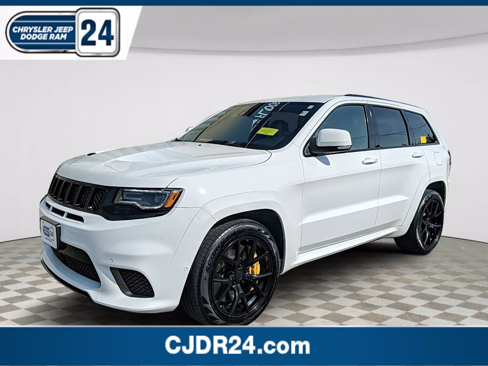 Certified Pre-Owned 2018 Jeep Grand Cherokee Trackhawk