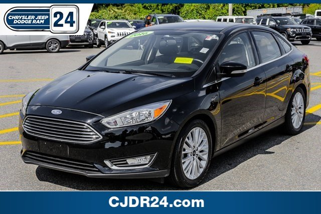 Pre owned 2016 ford focus titanium 4dr car in brockton j6508a cjdr 24 pre owned 2016 ford focus titanium fandeluxe Image collections