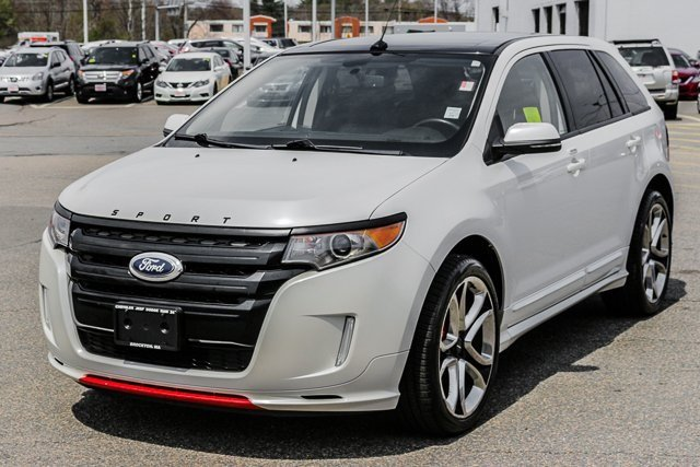 pre-owned 2013 ford edge sport sport utility in brockton #j5789a