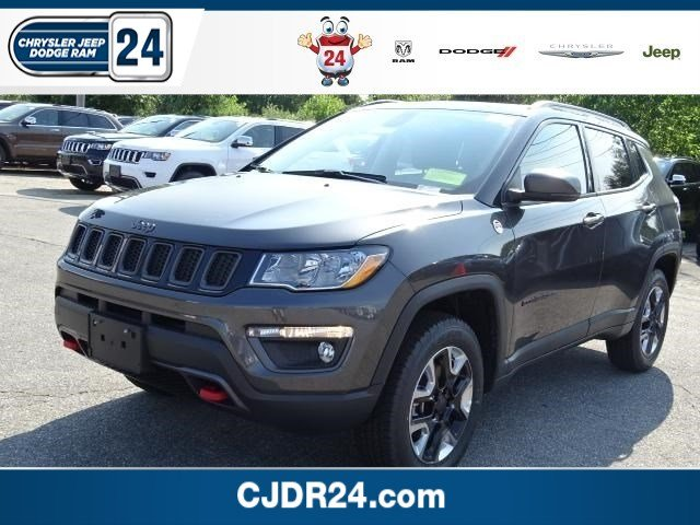 New 2017 Jeep Compass Trailhawk Sport Utility In Brockton J4003