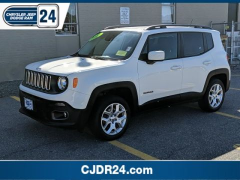 Certified Pre-Owned 2015 Jeep Renegade Latitude